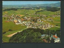 NEUHAUSEN / Deggendorf << Luftbild, Ort m. Kirche, Firmen, Himmelberg >> col AK