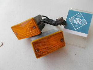 86 Mercedes R107 560S 380SL 450SL BOSCH TURN SIGNAL LIGHT Set 1078200320 107507