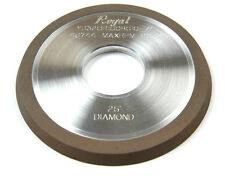 DIAMOND 1V1 WHEEL 25 DEGREE ANGLE 4 X 1/4 X 1-1/4 (46744)