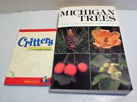 Michigan Trees AND Critters Great Lake Region Identification LOT Animals Leaves