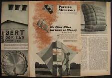 Kite Parafoil inventor Domina Jalbert 1958 pictorial