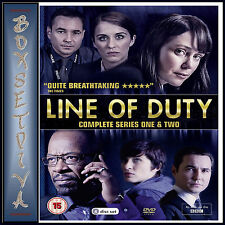 LINE OF DUTY - COMPLETE SERIES 1 & 2  ***BRAND NEW DVD BOXSET ****