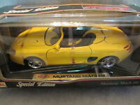 Maisto Special Edition   Mustang Mach III  Yellow  1:18 scale 31815  NIB (6)