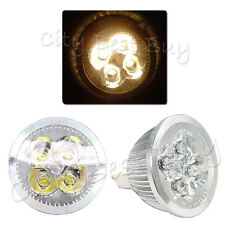 10 x MR16 Warm White 4W 4x1W 12V Energy Saving LED Spot Lamp Light Bulb
