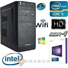 PC DESKTOP COMPLETO INTEL 1151 I5-6400 WINDOWS 10 WIFI HD1TB 8GB DDR4 HDMI USB 3