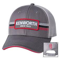 "Kenworth Motors Trucks Charcoal/Gray ""Since 1923"" Front Patch Trucker Cap/Hat"