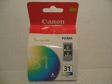 Genuine Canon Pixma CL-31 ChromaLife 100 Color Printer Ink Cartridge New Sealed
