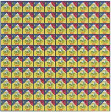 ALBERT HOFMANN BLUE BIKE RIDE 2000 - 100 PANEL BLOTTER ART - NEW 2018 JEWELLERY