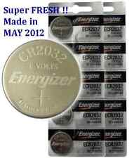 10x NEW energizer CR2032 Lithium Battery 3V FREE SHIPPING
