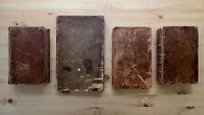 PRINTED 1720-1844 RARE BOOK COLLECTION QUAKER FOUNDED EARLY MENTAL HOSPITAL USA
