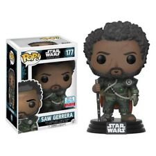 Star Wars Rogue One Saw With Hair NYCC 2017 US Excl Funko Pop Vinyl Fun20118