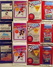 """BIG LOT of 12 PACKS of SPORTS CARDS.  """"Nitro GET IN THE RING"""""""