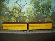 CON-COR N SCALE #001-105102 40ft (4) STEEL REEFERS FRUIT GROWERS EXPRESS #82190