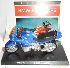 APODERARSE MAISTO METAL 1/18 MOTO MOTOCICLETA BMW R 1100 RS