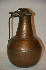 Kupferkanne Flasche Kessel Topf Antik Kupfer LARP Reenactment copper kettle