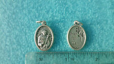 St. Francis of Assisi Medal Patron Saint of Animals Children Italy Catholic
