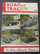 Vintage Road & Track Magazine May 1951