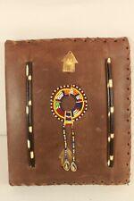 PORTFOLIO COVER, hand made,leather. (ref D 220)