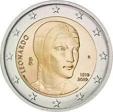 Italië 2019 - Leonardo da Vinci - 2 euro CC - UNC