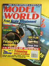 RC Model World - Radio Controlled Aircraft, July 1999 - Free Model Plan