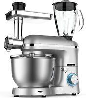 Homlee1800W Robot de Cocina Multifunción, Batidora Amasadora Reposteria, Picador
