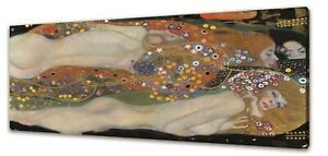 WATER SERPENTS GUSTAV KLIMT CANVAS PICTURE PRINT WALL ART FREE FAST DELIVERY