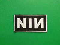 Nine Inch Nails NIN Patch Sew On or Iron On