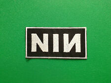 HEAVY METAL PUNK ROCK MUSIC FESTIVAL SEW ON / IRON ON PATCH:- NINE INCH NAILS