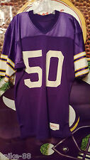RAY BERRY #50 MINNESOTA VIKINGS WILSON HOME PRESTIGE TEAMS JERSEY SIZE 44