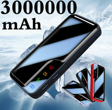 Portable Power Bank 3000000mAh External Backup Battery 2USB Charger for Phone