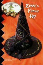 Zelda's Fancy Witches Hat Pattern By Crab Apple Hill Studio