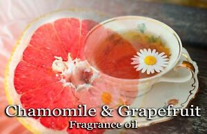 CHAMOMILE AND GRAPEFRUIT PROFESSIONAL GRADE FRAGRANCE OIL, 50 ML - CANDLES.