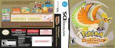 Pokemon HeartGold Nintendo DS Reproduction Spare Cover Art (no Game No Box)