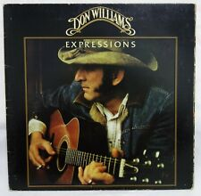 DON WILLIAMS - Expressions .. 1978 USA abc Records Lp