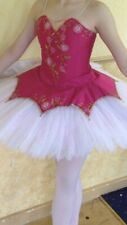 Beautiful Dark Pink/Cerise Pancake Tutu Age 10-13