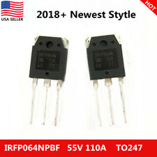 10x US New Genuine IRFP064N IRFP064NPBF Power MOSFET 55V 110A IR TO-247 Original