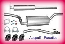 Abgasanlage Auspuff Schalldämpfer Ford Focus II 1.4 & 1.6 Fließheck Typ DA + Kit