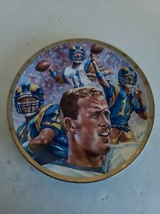 Vintage Jim Everett Sports Impressions Limited Edition Plate