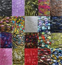 300 yrds 20 colors Ladder Trellis Yarn for 20 necklaces mix lot #80