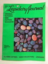 Lapidary Journal Magazine 1968 November Precious Australian Opal