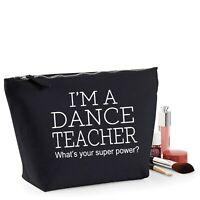 Dance Teacher Thank You Gift Women's Make Up Accessory Bag