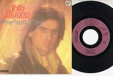 TOTO CUTUGNO disco 45 giri SERENATA made in FRANCE Sanremo STAMPA FRANCESE 1984