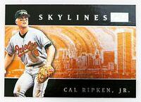 Cal Ripken Jr. #1SL (2000 Skybox) Skylines, Baltimore Orioles, HOF
