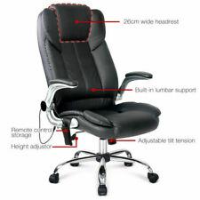 Artiss MOC-1223-BK Leather Office Chair - Black
