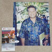 CHRIS MORTENSEN Signed ESPN NFL Broadcaster 8x10 photo + JSA COA DD68411