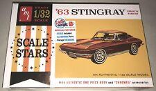 AMT 1963 Chevy Corvette 1:32 Scale Model Car Kit New 1112 *