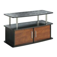 Convenience Concepts Designs2Go Deluxe 2 Door TV Stand, Cherry - 151165CH