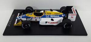 Model Car F1 1:18 Spark Williams Honda FW11B Piquet 1987 Modeling Static