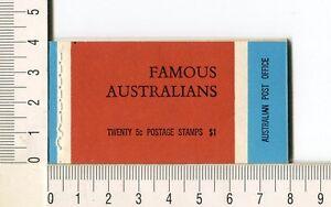 41143) AUSTRALIA 1968 MNH** QEII 5c (x20) n.432/35 Booklet SG B44 -Imperf L & R