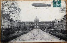 Airship/Dirigible 'Clement-Bayard' 1912 French Aviation Postcard - 'Le Vesinet'